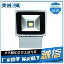广西南宁城市灯光亮化专家LED投光灯科锐芯片高亮度-推荐灵创照明图片
