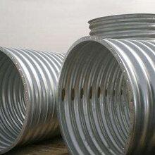 金属波纹涵管厂家镀锌钢波纹管涵涵洞波纹钢板型号齐全图片