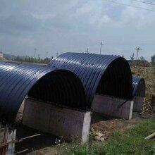 镀锌波纹钢管金属波纹涵管钢波纹管涵专业厂家生产图片