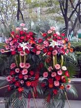 合肥火车站站前路临泉路附近鲜花店开业花篮生日爱情花图片