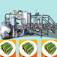诸城德控机械专业生产食品油炸机,真空低温油炸机质优价廉、欢迎选购