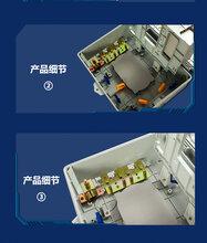 慈溪力天二级光分路器箱壁挂式16芯光纤分纤箱光钎分线盒图片