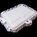 力天通信12芯光纤分纤箱1分16光分路器箱光纤配线箱