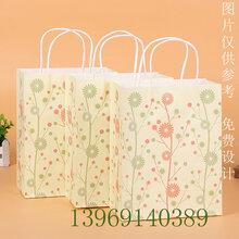 北方纸袋生产厂家批发直销服饰打包手提袋牛皮纸袋