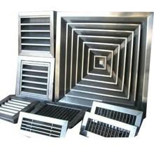 不銹鋼風口常用分類應用場合性能特點優勢-暖通德祥空調圖片