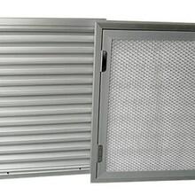 防沙百葉窗春季必備電動防沙百葉窗廠家定制-暖通德祥空調圖片