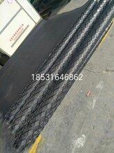 2米寬菱形花紋橡膠板,12mm耐磨滾筒冷粘膠板,環保橡膠板,長城直銷批發圖片