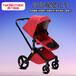 嬰兒推車高景觀四輪折疊避震豪華嬰兒推車可坐臥