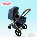 供應?豪華嬰兒推車減震高景觀寶寶車可坐可躺免充氣兒童手推車