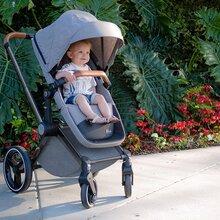 供应豪华高景观婴儿推车可坐卧可折叠四轮避震儿童手推车
