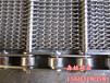 玉米清洗机输送带双旋网带链条式输送带菱形网带金属输送带厂家