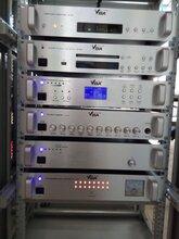 供应贵州校园定时上下课广播设备,威霸品牌,定时播放主机多功能定时播放器图片