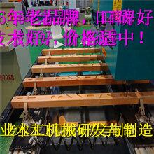 一台数控榫槽机数控打卯机可代替十名工人看完吓一跳_加工图片