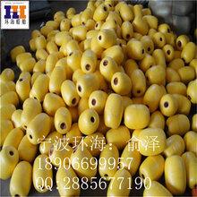 宝鸡直径80厘米浮球盘锦拦污警示黄色浮球海上挡浪塑料浮筒营口聚乙烯浮球