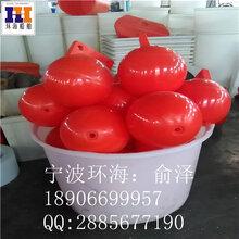 南平海上塑料浮标球填充PU浮体出口塑料浮球工厂直销