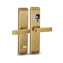 抚顺指纹密码锁家用锁奥科优力智能家居专业设计安装