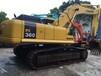 大挖市场进口二手挖机小松360-7现货出售信息+报价