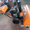滾刷式掃雪機小型手扶拋雪機不止可以掃雪還可平時清掃路面