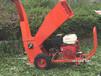 便攜式碎枝機輪式臥式樹枝粉碎機自動進料使用安全