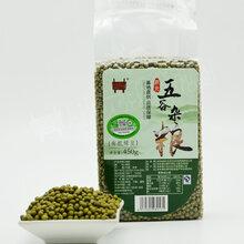 有机绿豆450g/袋新货真空包装五谷杂粮图片