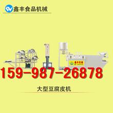 黑龙江哪有豆腐皮机豆腐皮机生产产量全自动豆腐皮机价格图片