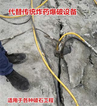 中卫铁矿岩石分离棒裂石静态不扰民