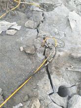 石料廠開采石英石毛石的機器分石機設計要求圖片
