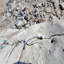 巖石劈裂棒劈石產量高濮陽裂石劈裂棒圖片