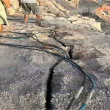 石層開采劈裂機張掖130型劈裂棒圖片