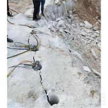 呼倫貝爾破石頭液壓劈裂機圖片