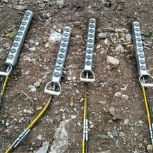 石灰巖開采靜態破裂機器劈裂棒通化液壓劈石棒圖片