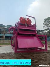 鉆孔灌注樁廢棄泥漿處理器效率快不快圖片