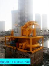 大橋樁基工程泥漿脫水分離機效率快不快圖片