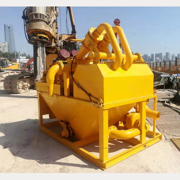 山东东营厂家推荐顶管污泥分离设备分离机