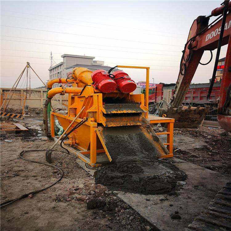 河南焦作矿山盾构泥浆分离机推荐
