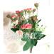 河南假花廠家歐式小玫瑰仿真玫瑰花盆栽家居裝飾室內擺件