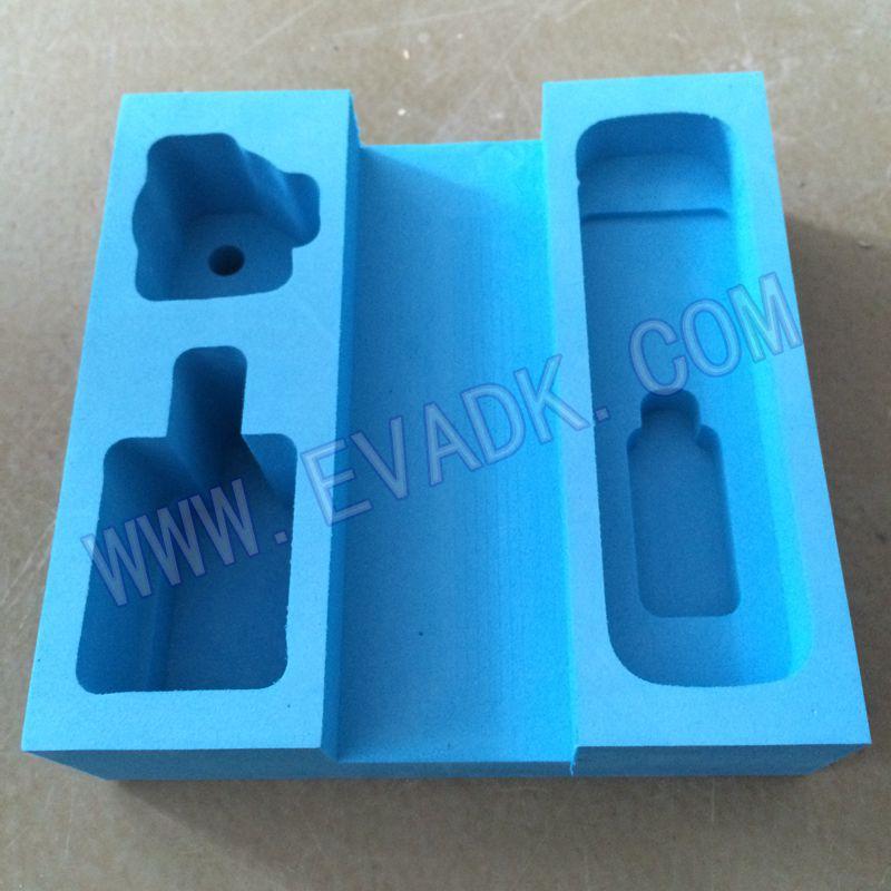上海EVA内衬EVA雕刻一次成型供应耳机包装内衬产品设计