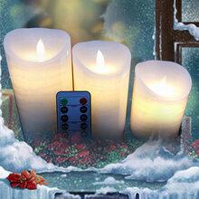 中国生产LED仿真电子蜡烛摆件亚马逊热销款摇摆蜡烛批发图片