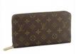 欧美大牌爆款咖啡色帆布logo印花拉链长款男士钱夹奢侈品男士钱包
