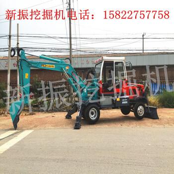 济宁小型轮式挖掘机匹配性