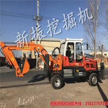 惠州新挖掘机轮胎挖机图片