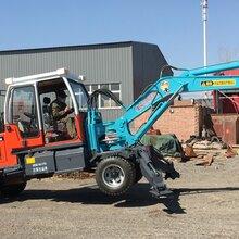 通化新挖掘机破碎锤挖掘机厂家图片