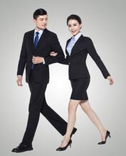 2016职业装女装套装裤装女条纹西装正装面试工作服时尚工装