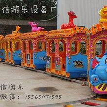 严格按照国家要求制造的游乐设备大象火车