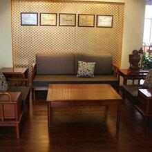 江苏苏州帝豪红木家具店新中式家具价格东阳红木家具厂家江南之诗沙发