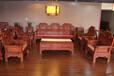 四川成都帝豪红木家具店红木家具五属八类33种东阳木雕大款年年有余沙发
