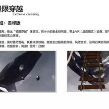 淄博科普道具VR极限穿越雪山吊桥设备出租VR科技系统出售
