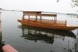 银川木船厂家供应旅游船观光船高低篷船周氏制造