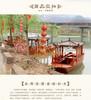 周氏木船厂家制造单篷船单亭船高低篷船