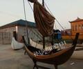江苏公园木船景观装饰船厂家直销均可定制